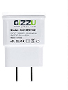 Gizzu 2 Port 2.1a USB Wall Charger - White Cover