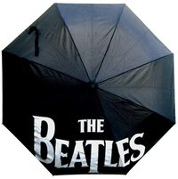 Beatles Drop T Logo Black Umbrella - Cover