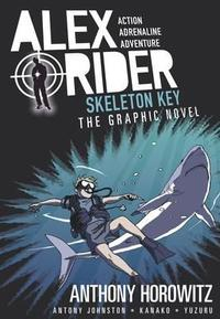 Alex Rider: Skeleton Key Graphic Novel - Anthony Horowitz (Paperback) - Cover