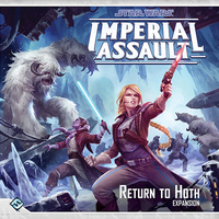Star Wars: Imperial Assault - Return to Hoth Expansion (Board Game) - Cover