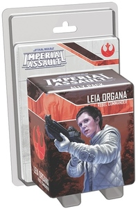 Star Wars: Imperial Assault - Leia Organa Ally Pack (Board Game) - Cover