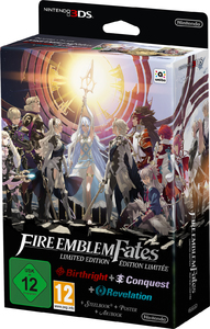 Fire Emblem Fates: Birthright + Conquest (3DS) - Cover