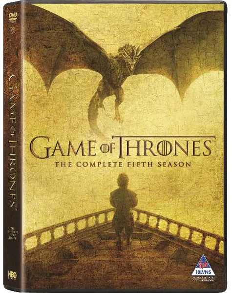 Game of Thrones - Season 5 (DVD) - Movies & TV Online | Raru A Dance With Dragons Audiobook Cover