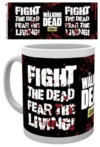 The Walking Dead Fight the Dead Boxed Mug