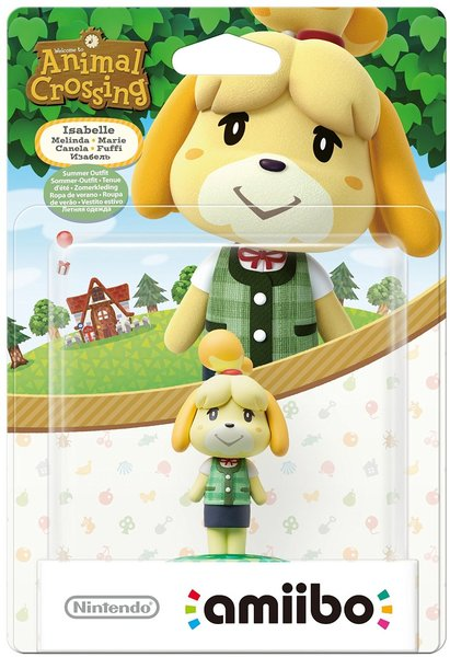 Nintendo amiibo - Isabelle Summer Outfit (For 3DS/Wii U)