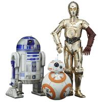 """Star Wars"" Artfx+ First Order R2-D2 & C-3PO With BB-8 (Figures)"