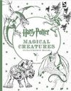 Harry Potter Magical Creatures Colouring Book - Warner Brothers (Paperback)