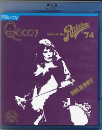 Queen - Live At the Rainbow '74 (Blu-ray) - Cover