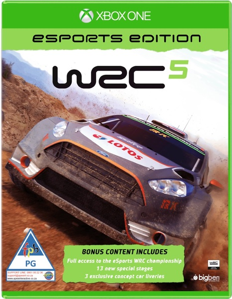 wrc 5 esports edition xbox one video games online raru. Black Bedroom Furniture Sets. Home Design Ideas