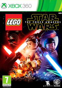 LEGO Star Wars: The Force Awakens (Xbox 360) - Cover