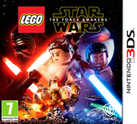 LEGO Star Wars: The Force Awakens (3DS) - Cover