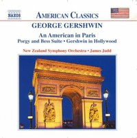 Various Artists - Gershwin:An American In Paris (CD) - Cover