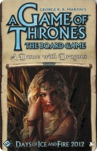 A Game of Thrones: The Board Game Second Edition - A Dance with Dragons - Cover