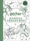 Harry Potter Magical Creatures Postcard Coloring Book - Scholastic Inc. (Stationery)