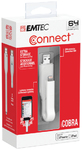 Emtec T500 iCobra Dual Lightning On the Go 2-in-1 USB 3.0 Flash Drive - 64GB