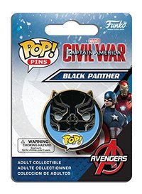 Funko Pop! - Pins Captain America 3 - Black Panther Pop (Civil War) - Cover