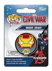 Pins Captain America 3 - Iron Man Pop (Civil War) - Cover