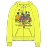 The Beatles Sub Band & Logo Ladies Yellow Zip Hoodie (Small)