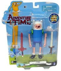 Adventure Time Finn with New Face and 2 Swords 5'' Action Figure - Cover