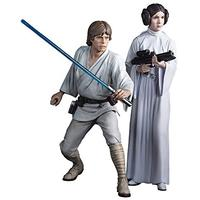 Star Wars Luke Skywarlker & Princess Leia ArtFX+ 1/10 Scale Figures (Set of 2)