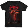 Slayer Repentless Crucifix Mens Black T-Shirt (X-Large)