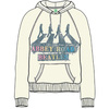 The Beatles Abbey Road Spray Ladies Natural Hoodie (Large)
