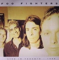 Foo Fighters - Live In Toronto - April 3, 1996 (Vinyl) - Cover