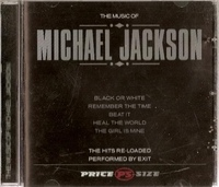 Michael Jackson - Music Of Michael Jackson (CD) - Cover