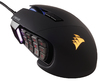 Corsair Scimitar RGB MOBA/MMO Optical Gaming Mouse - Black
