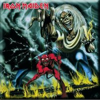 Iron Maiden Number of the Beast Fridge Magnet - Cover