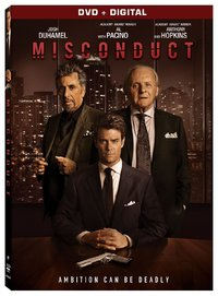 Misconduct (Region 1 DVD) - Cover