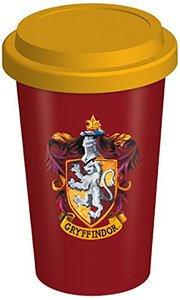 Harry Potter - Gryffindor Crest Ceramic Travel Mug - Cover