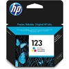 HP 123 Tri-Colour Ink Cartridge