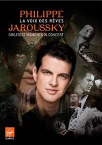 Philippe Jaroussky - Greatest Moments In Concert (Region 1 DVD) - Cover