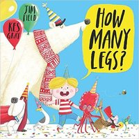 How Many Legs? - Kes Gray (Paperback) - Cover