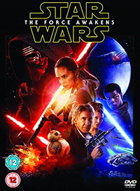 Star Wars: The Force Awakens (DVD) - Cover