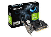 Gigabyte GeForce GT 710 nVidia 1GB Graphics Card - Cover