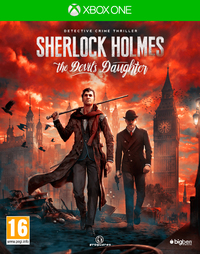 Sherlock Holmes: The Devil's Daughter (Xbox One) - Cover