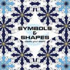 Colouring In Book - Mini Shapes and Symbols - New Holland Publishers (Paperback)
