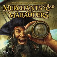 Merchants & Marauders (Board Game) - Cover