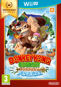 Donkey Kong Country: Tropical Freeze (Wii U) - Cover