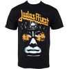 Judas Priest Hellbent Puff Print T-Shirt (Small)