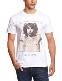 The Doors American Poet Mens T-Shirt (Small) - Cover