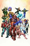 Official Handbook of the Marvel Universe a to Z 6 - Jeff Christiansen (Hardcover)