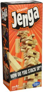Jenga (Stacking Wooden Block Game) - Cover