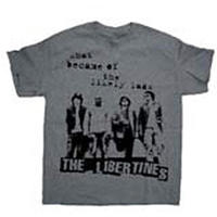 The Libertines Likely Lads Puff Print T-Shirt (Large)