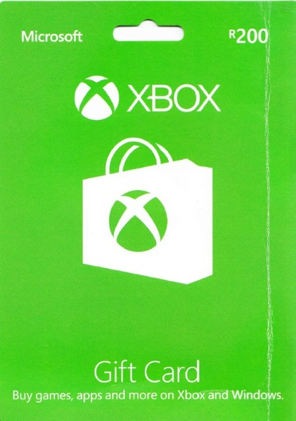 Xbox Live R200 Gift Card Xbox 360 Xbox One Video Games Online