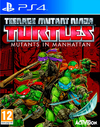 Teenage Mutant Ninja Turtles: Mutants in Manhattan (PS4) Cover
