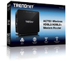 Trendent AC750 Wireless VDSK2/ADSL2+ Modem Router