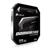 Corsair Dominator Platinum 64GB (16Gb x 4 kit) DDR4-3200 CL16 1.35v - 288pin Memory